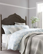 Origami Floral Organic-Cotton Flannel Bedding