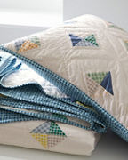 Hable Kites Quilt and Sham