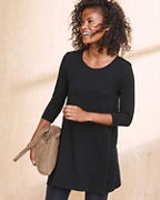 A-Line Seamed Tunic