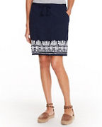Organic-Cotton Embroidered Skirt