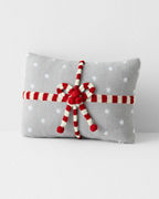 Holiday Knit Gift Pillow