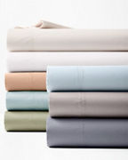 Wrinkle-Resistant Solid Sateen Bedding