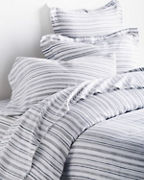 EILEEN FISHER Stripe Washed-Linen Bedding Collection
