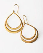 Satya Open Teardrop Earrings