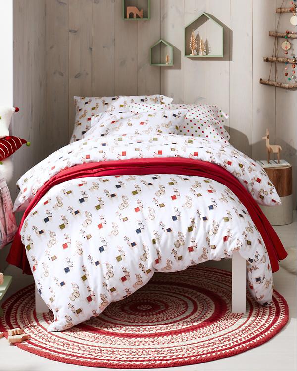 Holiday Llama Flannel Bedding  f5802847d