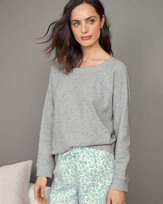 Organic Cotton Waffle Knit Pajama Top by Garnet Hill