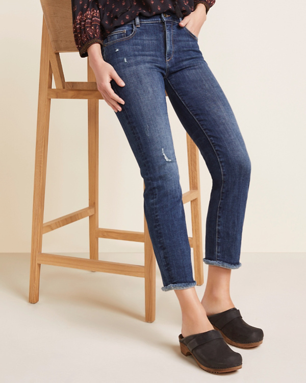 30207169 DL1961 Mara Straight Ankle Jeans | Garnet Hill