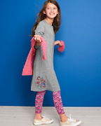 Girls' Swing Sweatshirt Dress