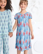 Girls' Dreamland Short-Sleeve Nightgown
