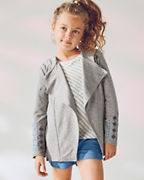 Girls' Swing Sweatshirt Jacket