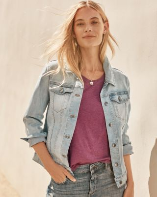Relaxed Jean Jacket by Garnet Hill