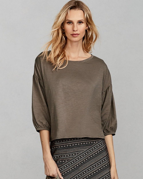 b28cc8725f9 Women's Cotton Tops, Tunic Shirts, Blouses | Garnet Hill