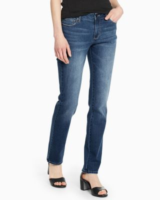 Essential Straight Jeans by Garnet Hill