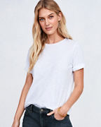 EILEEN FISHER Organic-Cotton Elbow-Sleeve Tee
