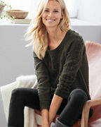 Textured Tunic Sweater