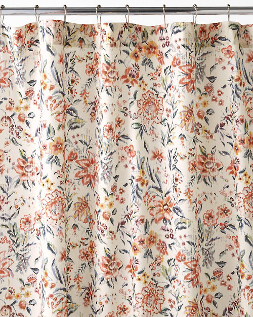 Mia Floral Shower Curtain