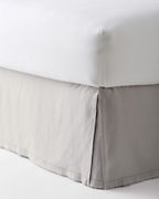 EILEEN FISHER Washed-Linen Bedskirt