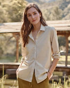 Essential Organic-Cotton Shirt