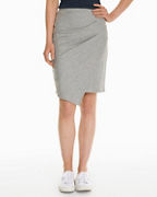 Surplice Wrap Skirt