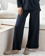 EILEEN FISHER Organic-Cotton Wide-Leg Pajama Pants