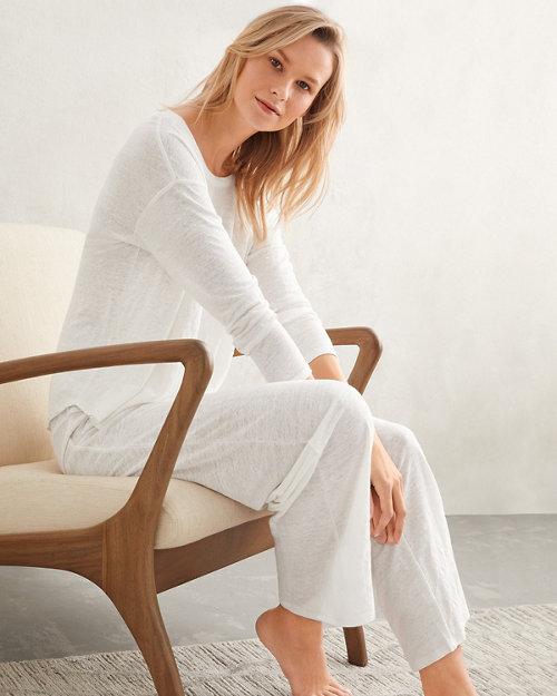 9fb80f85cf9 EILEEN FISHER Organic-Linen Knit Pajamas