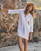 Relaxed-Linen Beach Dress