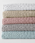 Organic-Cotton Sculpted Towels