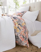 Meadow Floral Organic-Cotton Percale Bedding