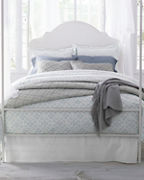 Wrinkle-Resistant Trellis Sateen Bedding