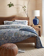 Vienne Paisley Quilt and Sham