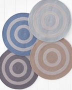 Sunbrella® Indoor-Outdoor Braided Round Rug