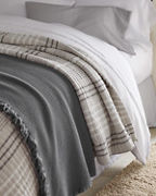 EILEEN FISHER Linen and Organic-Cotton Stripe Quilt and Sham