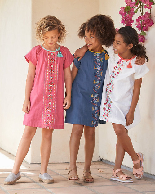 Girls  Delilah Embroidered Woven Dress 45f619d7b