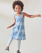 Girls' French Terry Racerback Dress