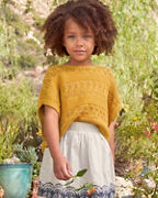 Girls' Organic-Cotton Boxy Sweater