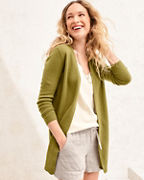 Easy Cashmere Open Cardigan