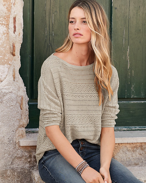 Easy Novelty-Stitch Sweater 2a55d5aeb