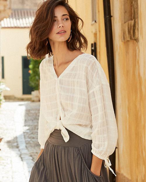 f1329a2b2 Women's Cotton Tops, Tunic Shirts, Blouses | Garnet Hill