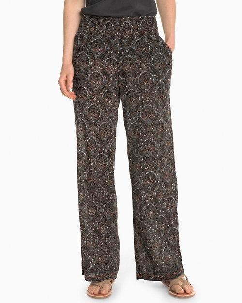 693bd74ec84 Wide-Leg Gauze Pants
