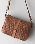 Cristina Woven Cross-Body Bag