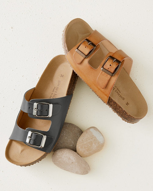 7c56ba7597b3a8 Boys  Double-Buckle Slides
