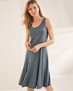 Easy Knit Godet Dress