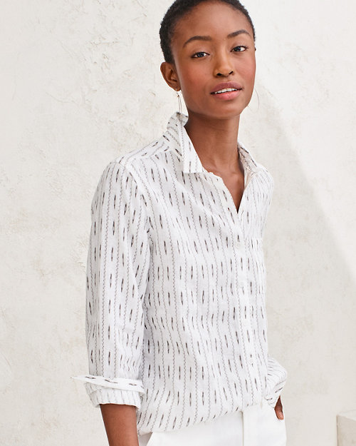 5371b7a6cfd Linen Button-Down Shirt. Quick Shop