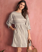 Boatneck Batwing Dress