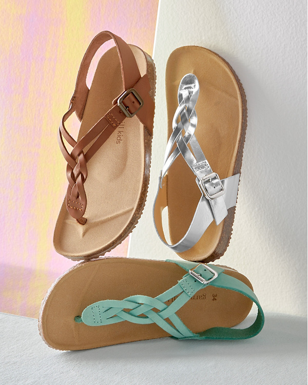 9f485ff1abbf Kids  Braided Thong Sandals