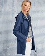 EILEEN FISHER Organic-Cotton & Nylon A-Line Jacket