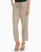 EILEEN FISHER TENCEL™ & Linen Lantern Ankle Pants