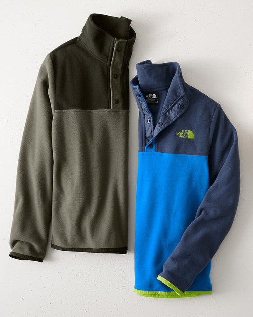 1330047e2f14 The North Face  174  Boys  Glacier Quarter-Snap Jacket