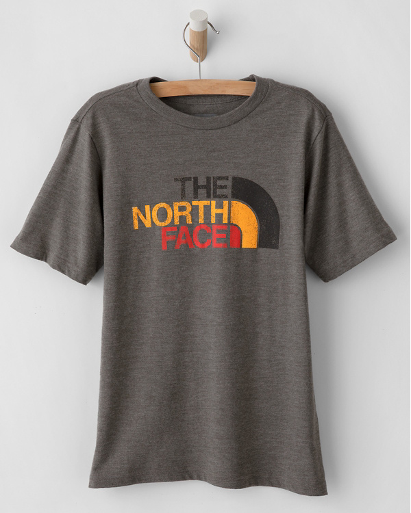 172b73c59 The North Face® Boys' Short-Sleeve Tri-Blend Tee