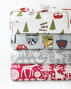 Printed Lightweight Core-Loft® Comforter, Throw, and Sham